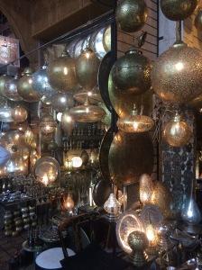 Lanterns, Marrakech, Morocco