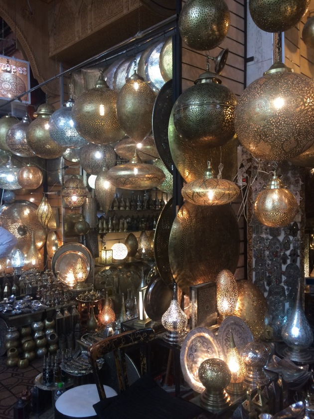 Lanterns, Marrakech, Morocco