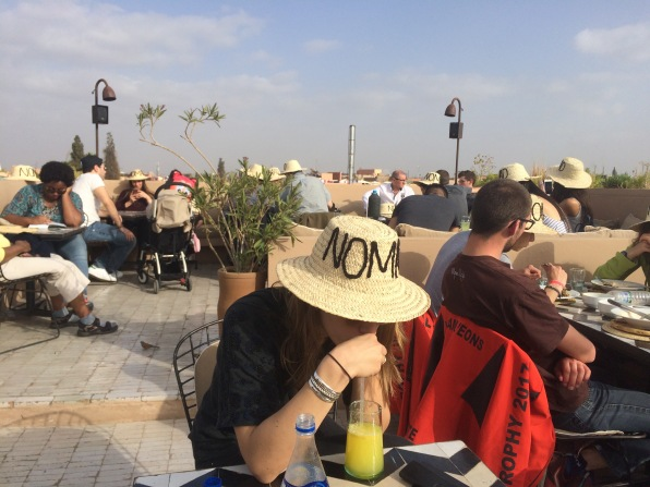 Rooftop at Nomad, Marrakech