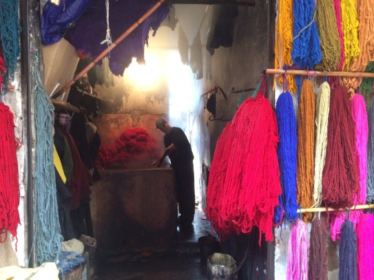 Dyers District, Marrakech