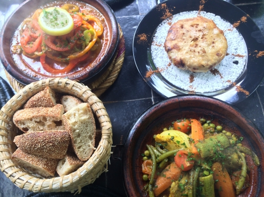 Tagine at Le Jardin, Marrakech