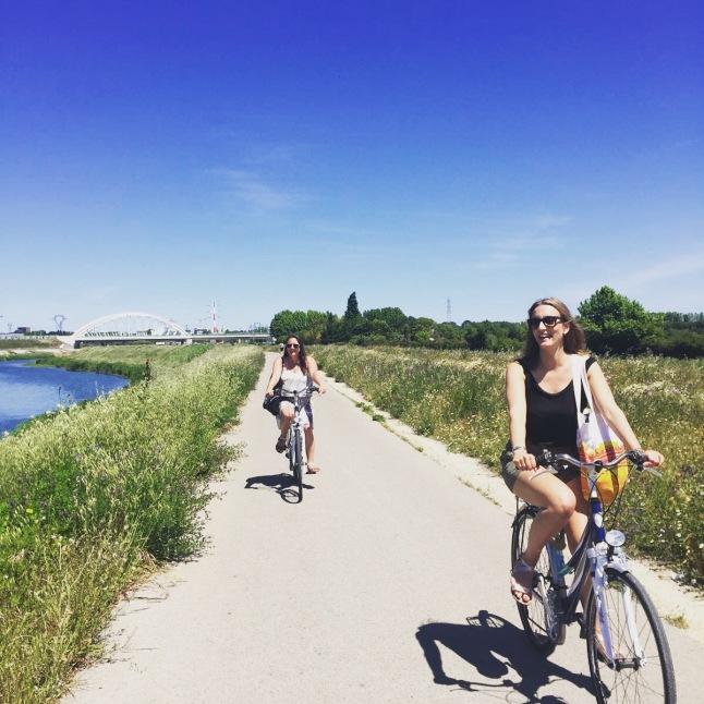Cycling to Palavas-les-Flots