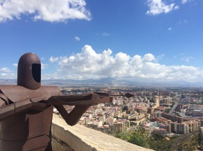 City view from Castillo de Santa Barbara