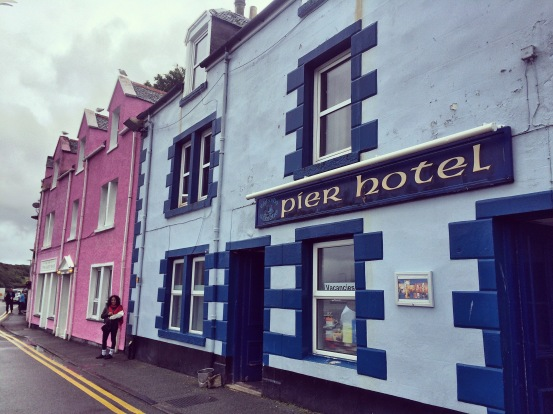 Fish and chips in Portree, Isle of Skye