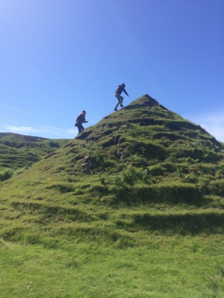 Cone-hill top climbing, Fairy Glen