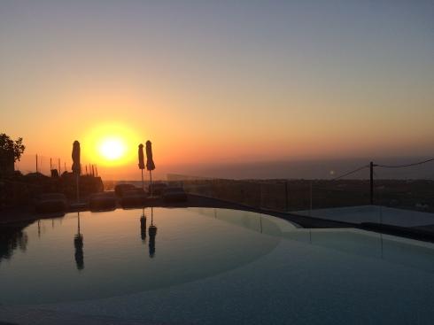 Sunset, Aperanto Suites