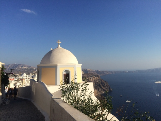 Domed church, Santorini