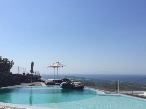 Poolside, Aperanto Suites