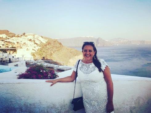 Lisa Vecchio, Santorini, Greece