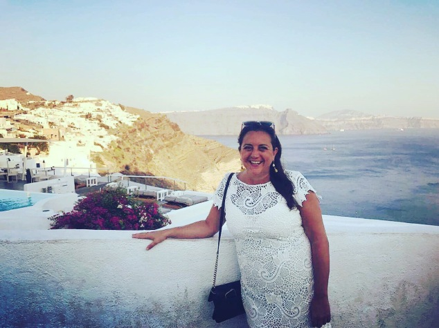 Lisa Vecchio, Santorini, Greece