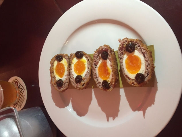 Scotch eggs from Maso A Kobliha
