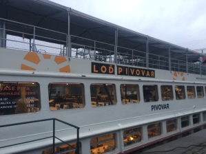 Lod Pivovar Craft Brewery Boat, Prague