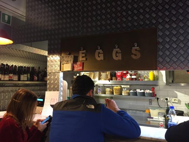 Eggs, Trastevere