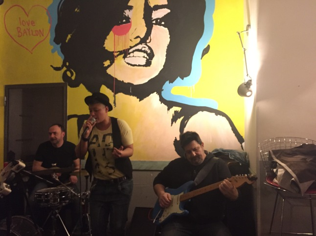 Live music at Babylon Café, Trastevere