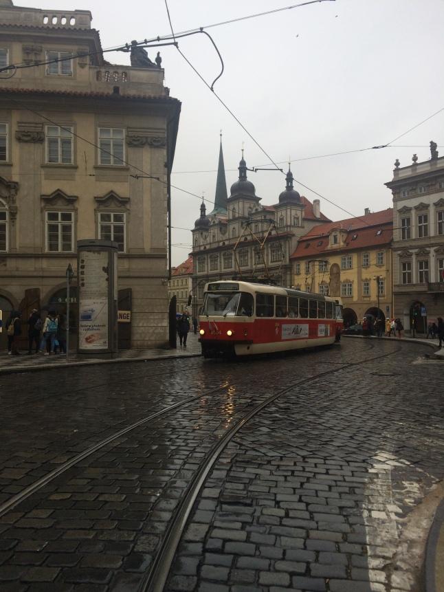 Tram car, Prague