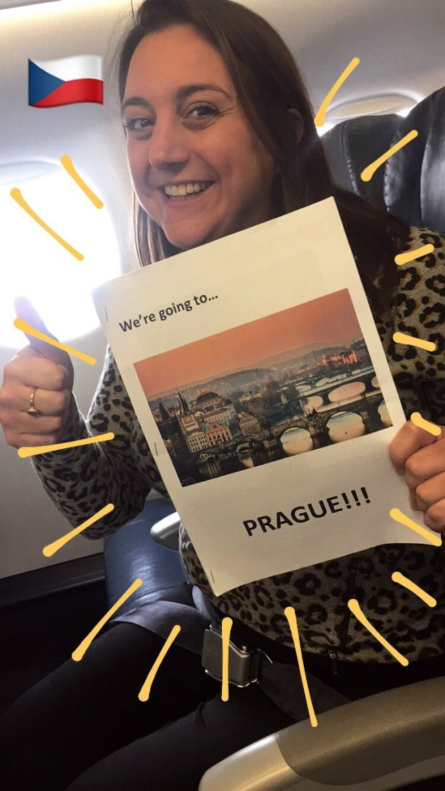 We're going to Prague!