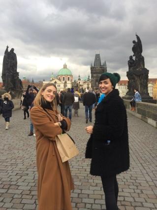 Pen & Soph, Charles Bridge, Prague