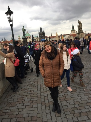 Lisa Vecchio Charles Bridge, Prague