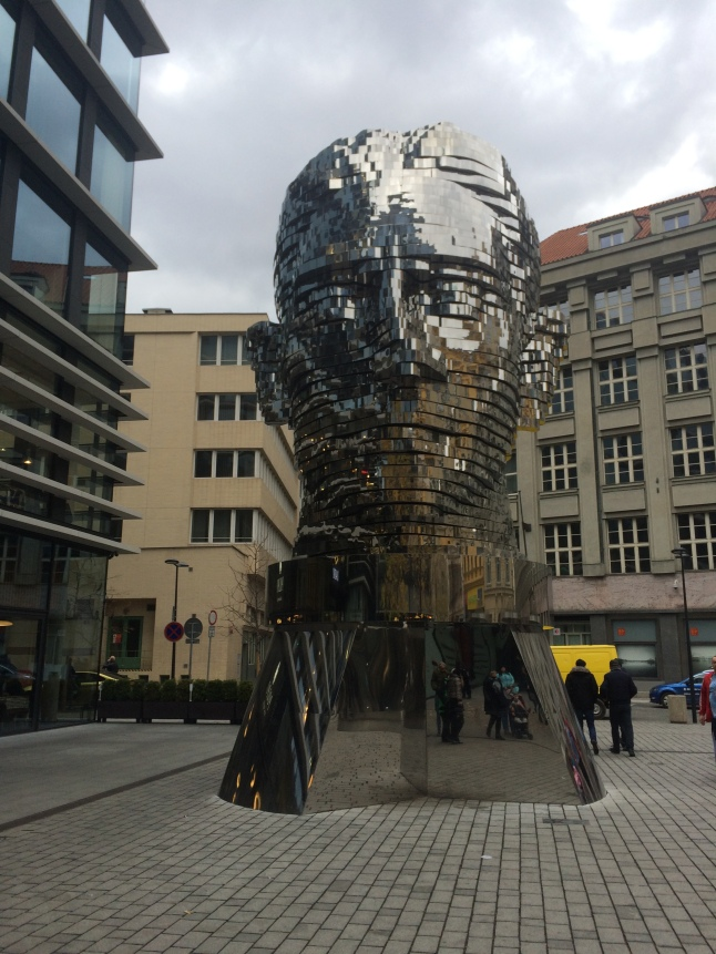 Giant Head of Franz Kafka