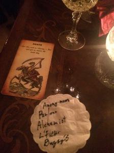 Choose Your Fate Tarot Card, Alchemist Bar, prague