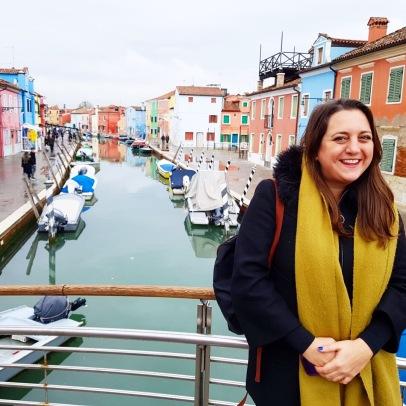 Lisa Vecchio in Burano
