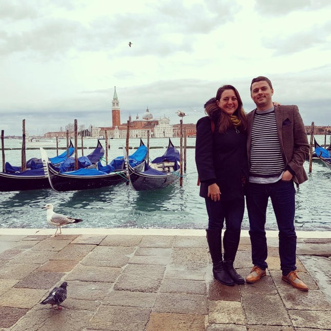 Lisa & Jamie in Venice