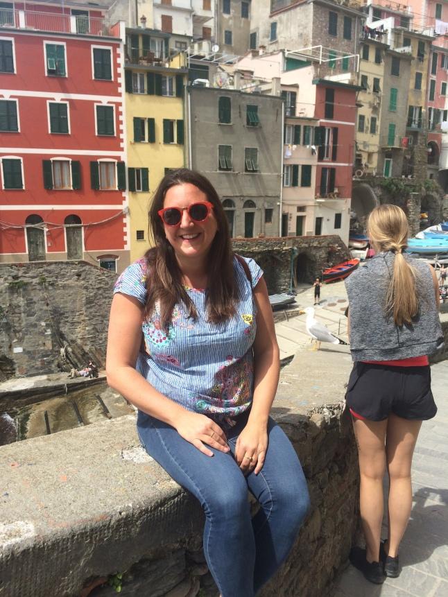 Lisa Vecchio in Riomaggiore