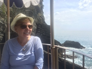 The view at Restaurante Belforte, Vernazza