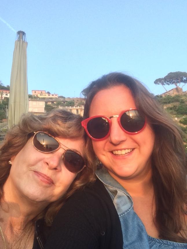 Lisa Vecchio & JoAnn Rose in Cinque Terre, Italy