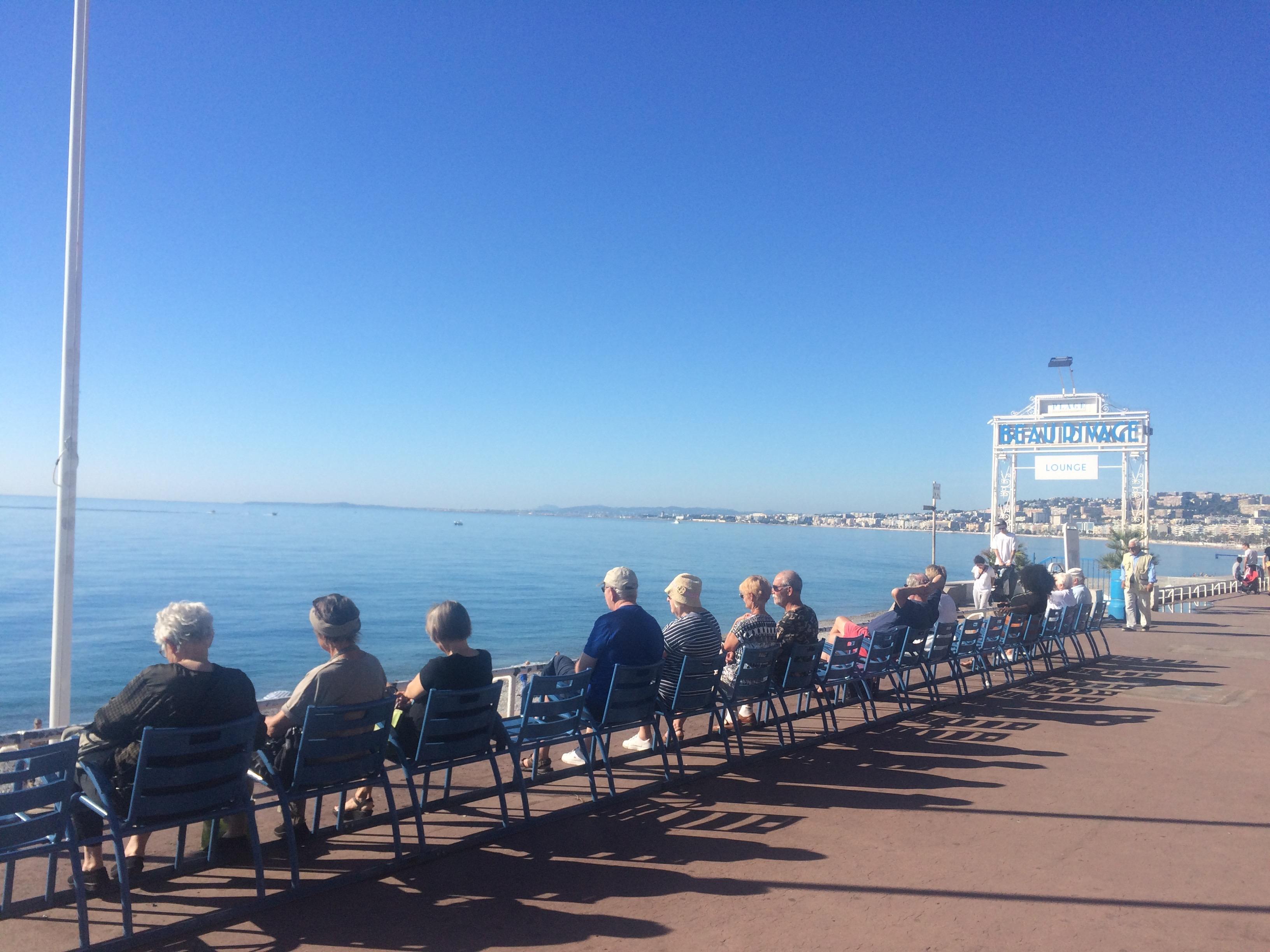 The promenade, Nice