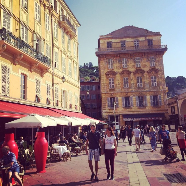 Cours Saleya market