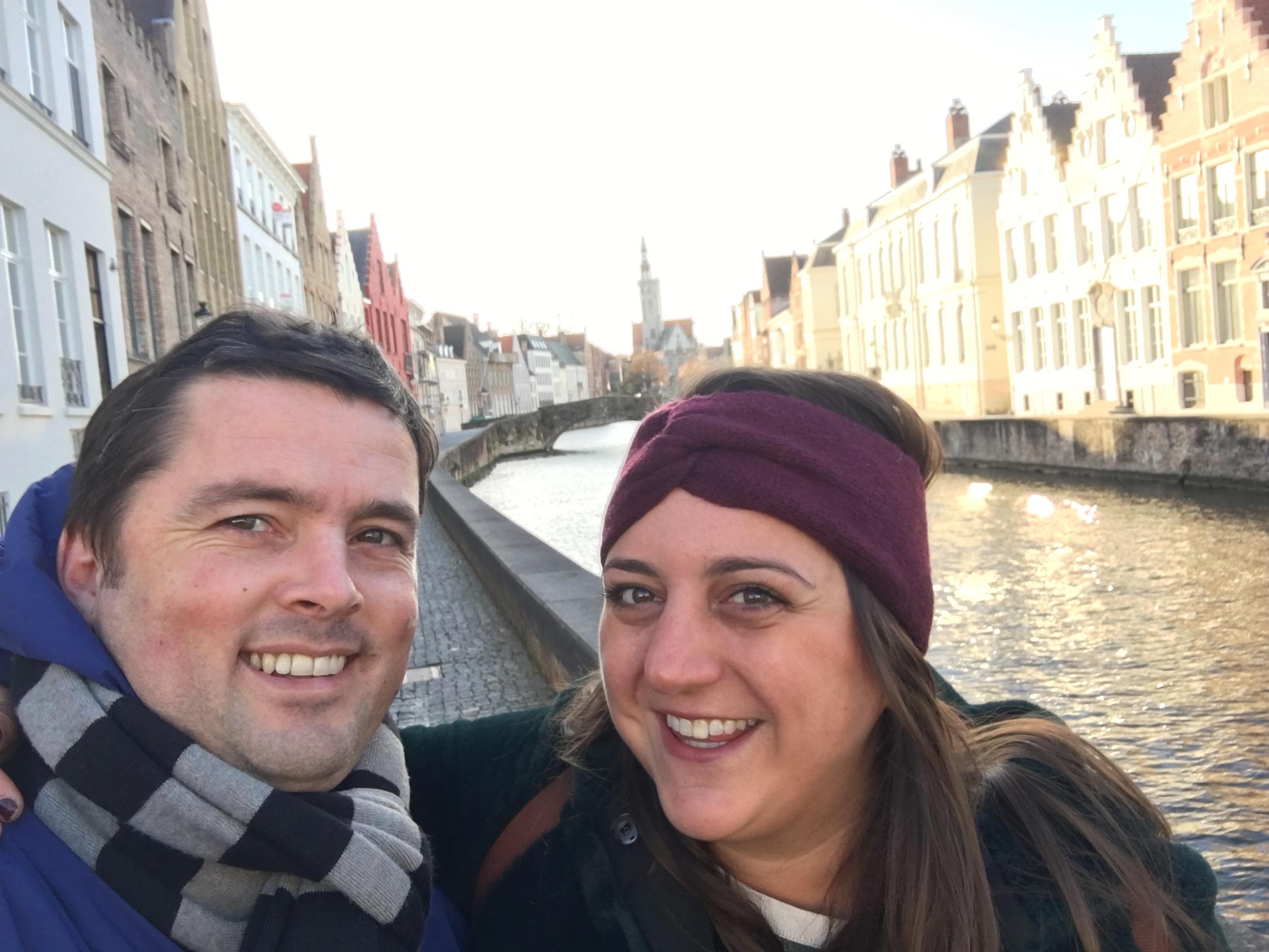 Lisa & Jamie in Bruges