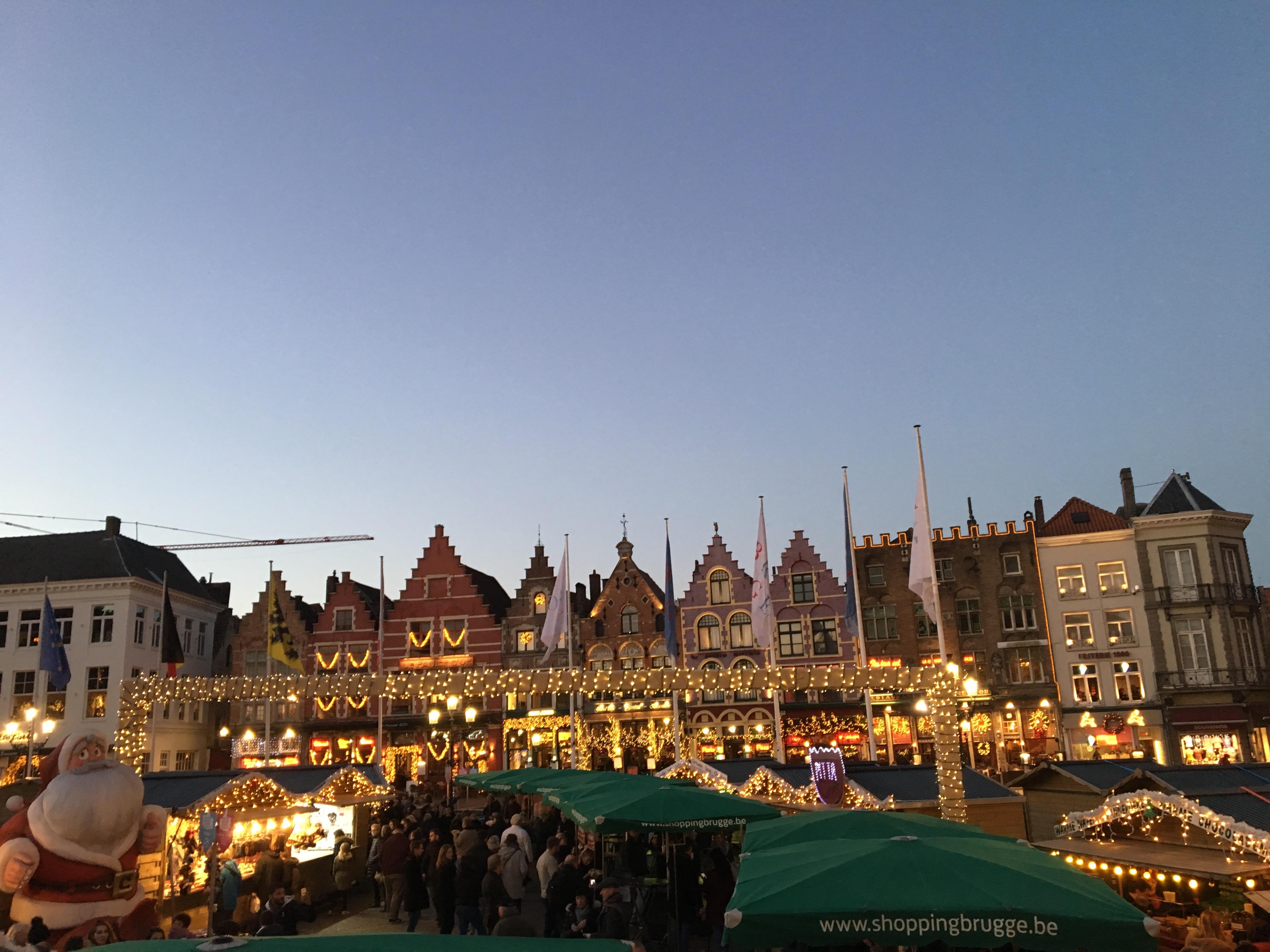 Bruges Christmas Market Square