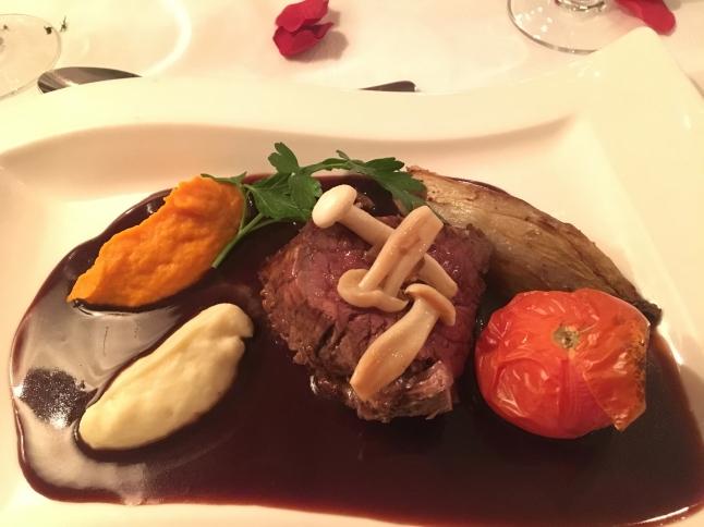 Dinner at Park Restaurant