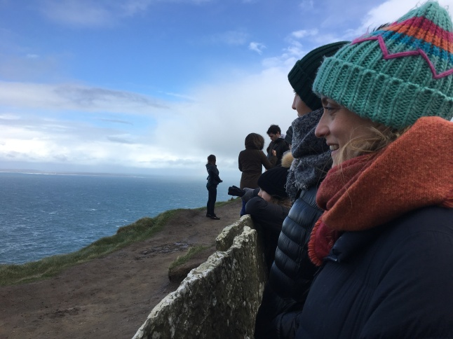 Enjoying the View - Cliffs of Moher
