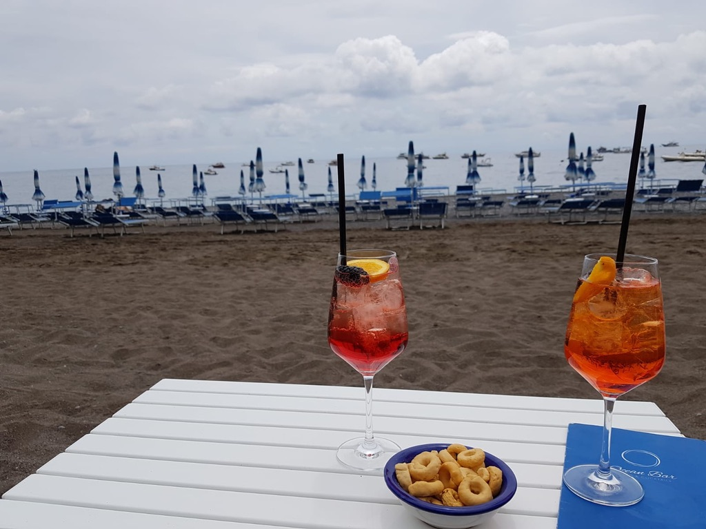 Spritz o'Clock at Blu Bar, Positano