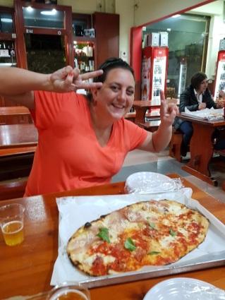 Late night pizza at Da Franco