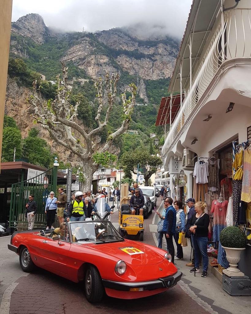 Classic Alfa Romeo, Positano