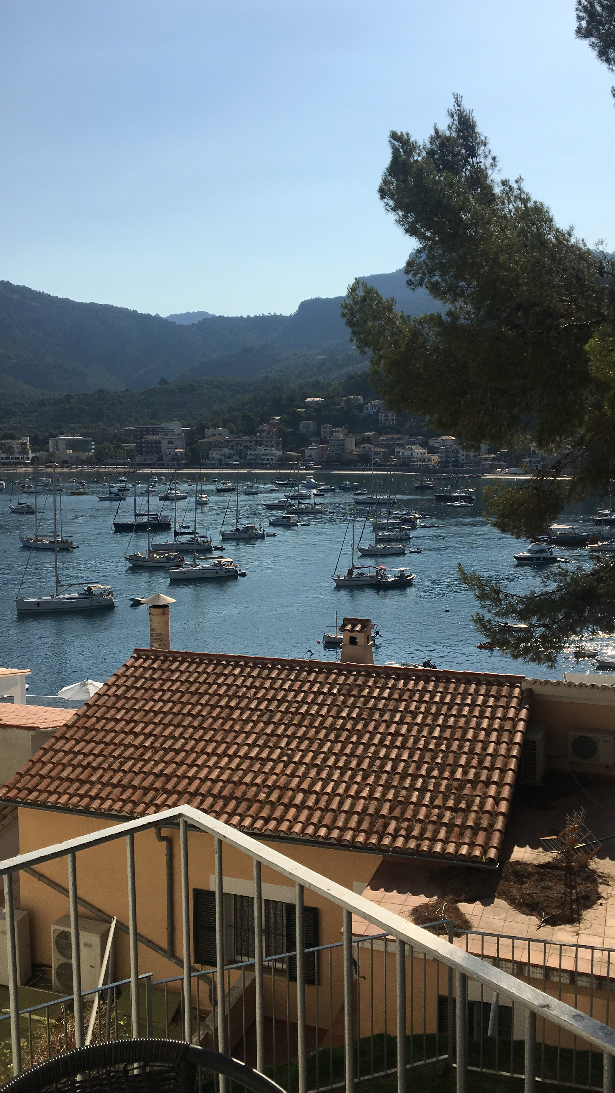 View of Port de Soller, Majorca