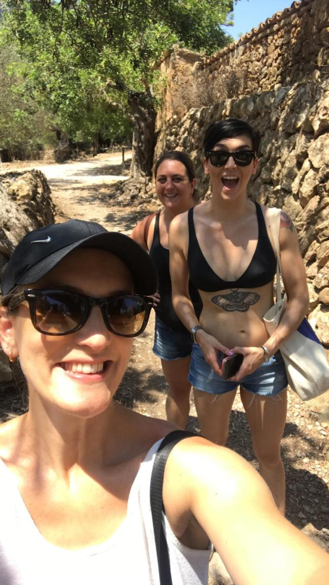 Group Shot Hiking Serra de Tramuntana, Majorca