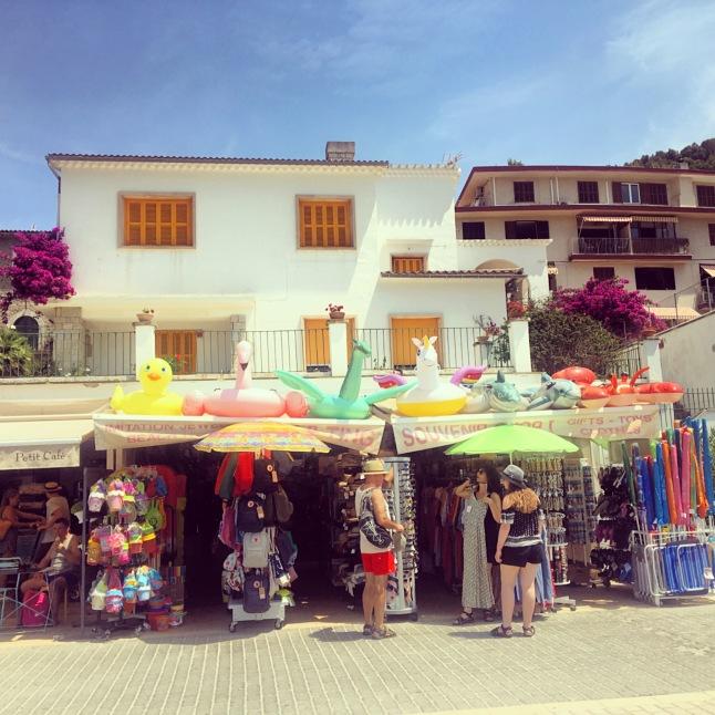 Beach shack, port de soller, Majorca