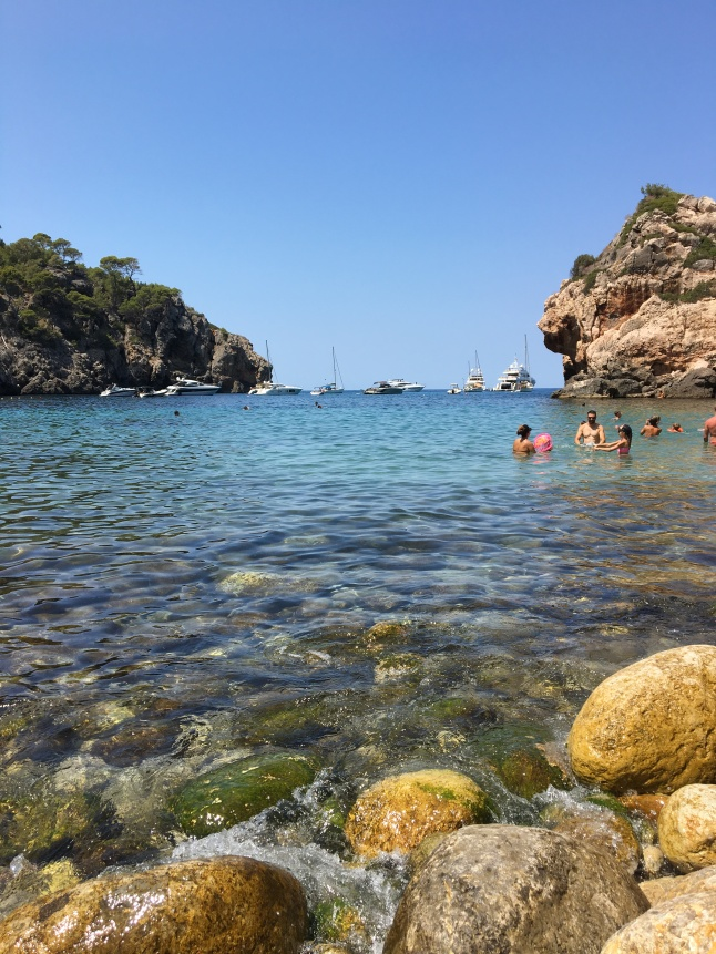 The sea, Cala Deia, Majorca, Cala Deia, Majorca