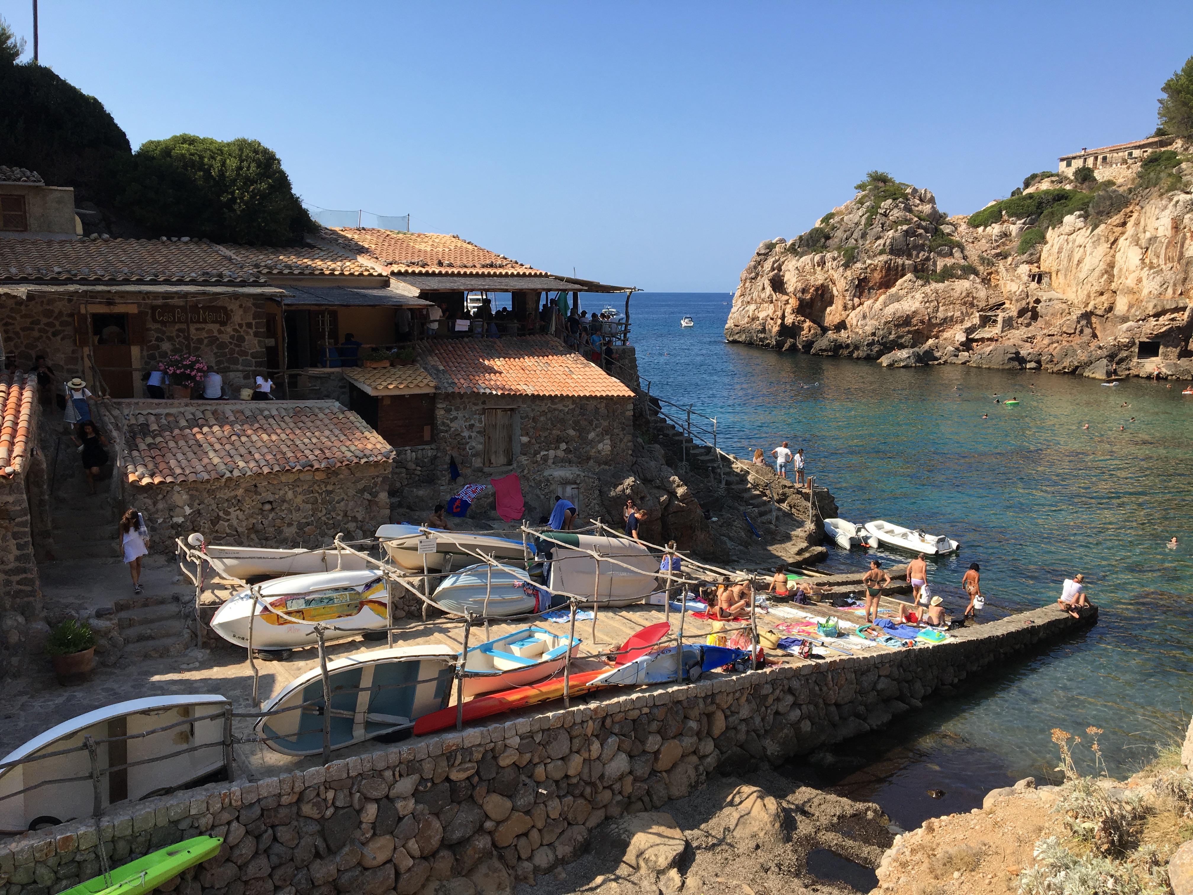 Restaurant, Cala Deia, Majorca