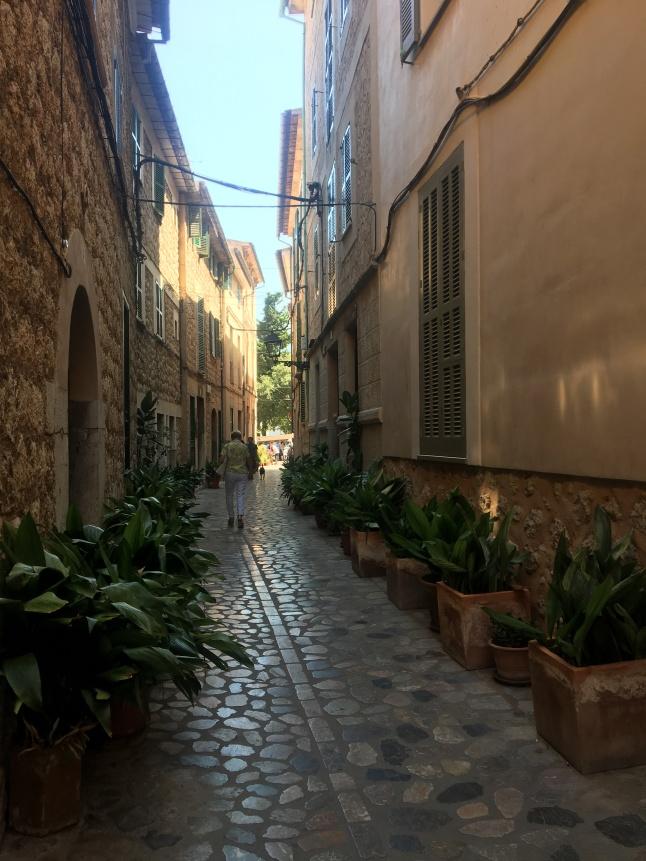 Streets of Sóller town, Majorca
