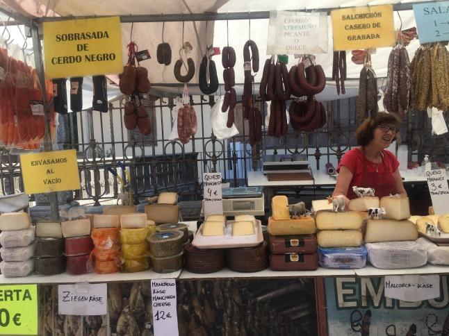 Meat at Sóller Market, Majorca