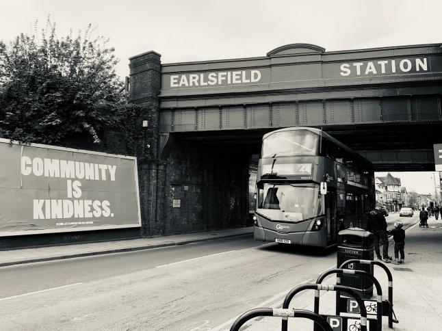 Earlsfield Station, London