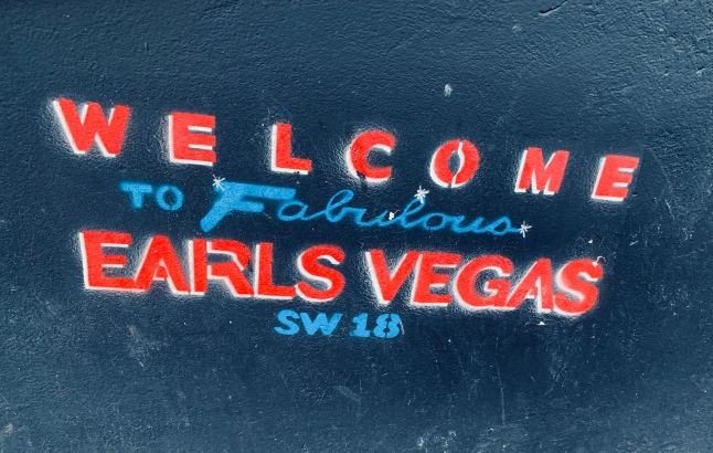 Welcome to the fabulous Earlsvegas!